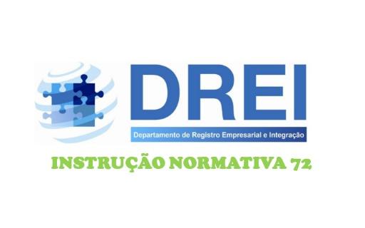 Publicação da Instrução Normativa Nº 72 do DREI